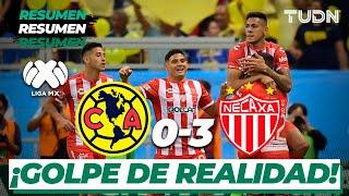 Resumen y goles | América 0 - 3 Necaxa | Liga Mx CL 2020 - J8 | TUDN