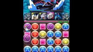 【パズドラ】極夜の塔5青の守護龍攻略
