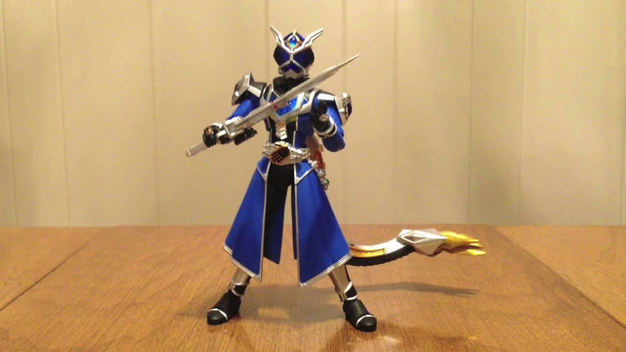 s h figuarts kamen rider wizard water dragon review youtube