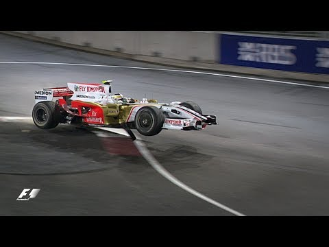 Remembering The Notorious 'Singapore Sling' Chicane | Singapore Grand Prix