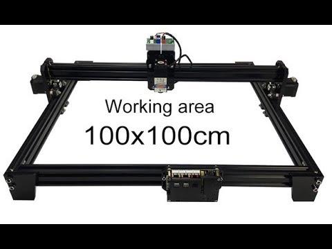 DIY 15W laser engraving machine TTL control 1*1m