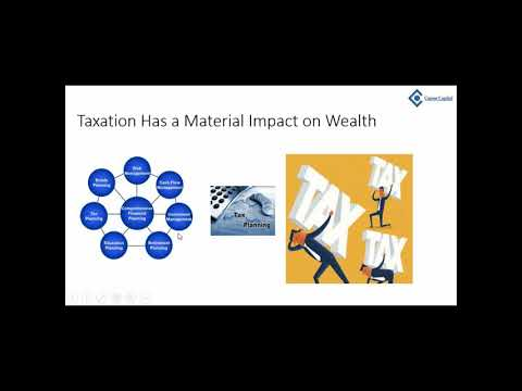 Canon Capital Wealth Management: Personal Wealth Opportunities with the New Tax Law