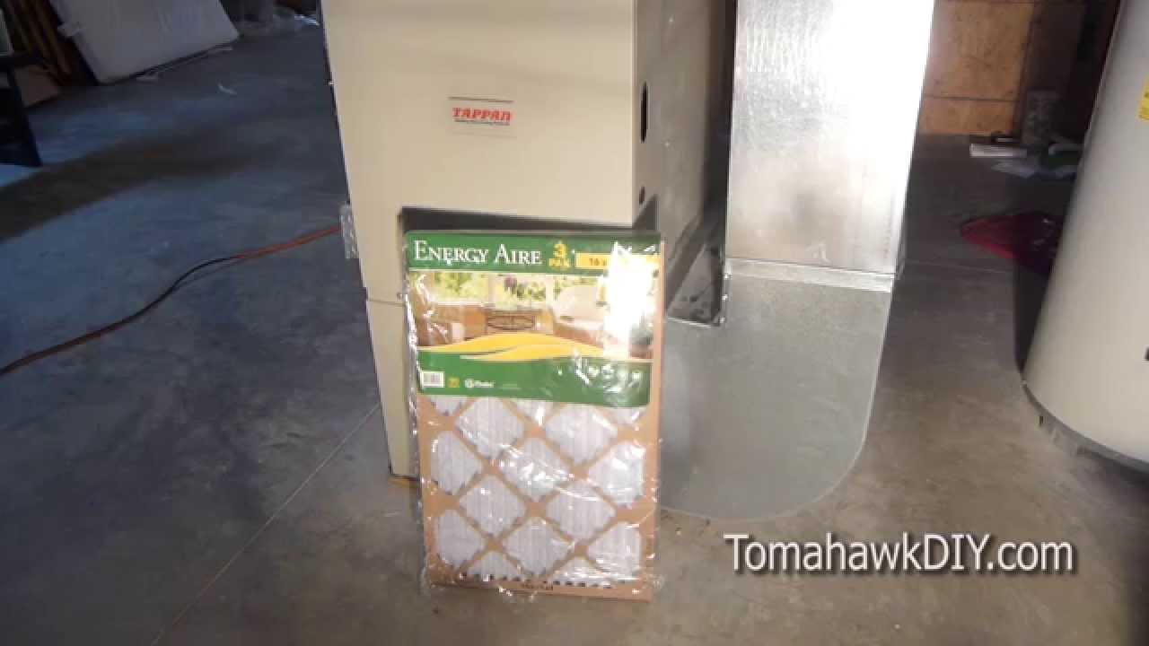 How To Replace A Home Furnace Air Conditioner Filter