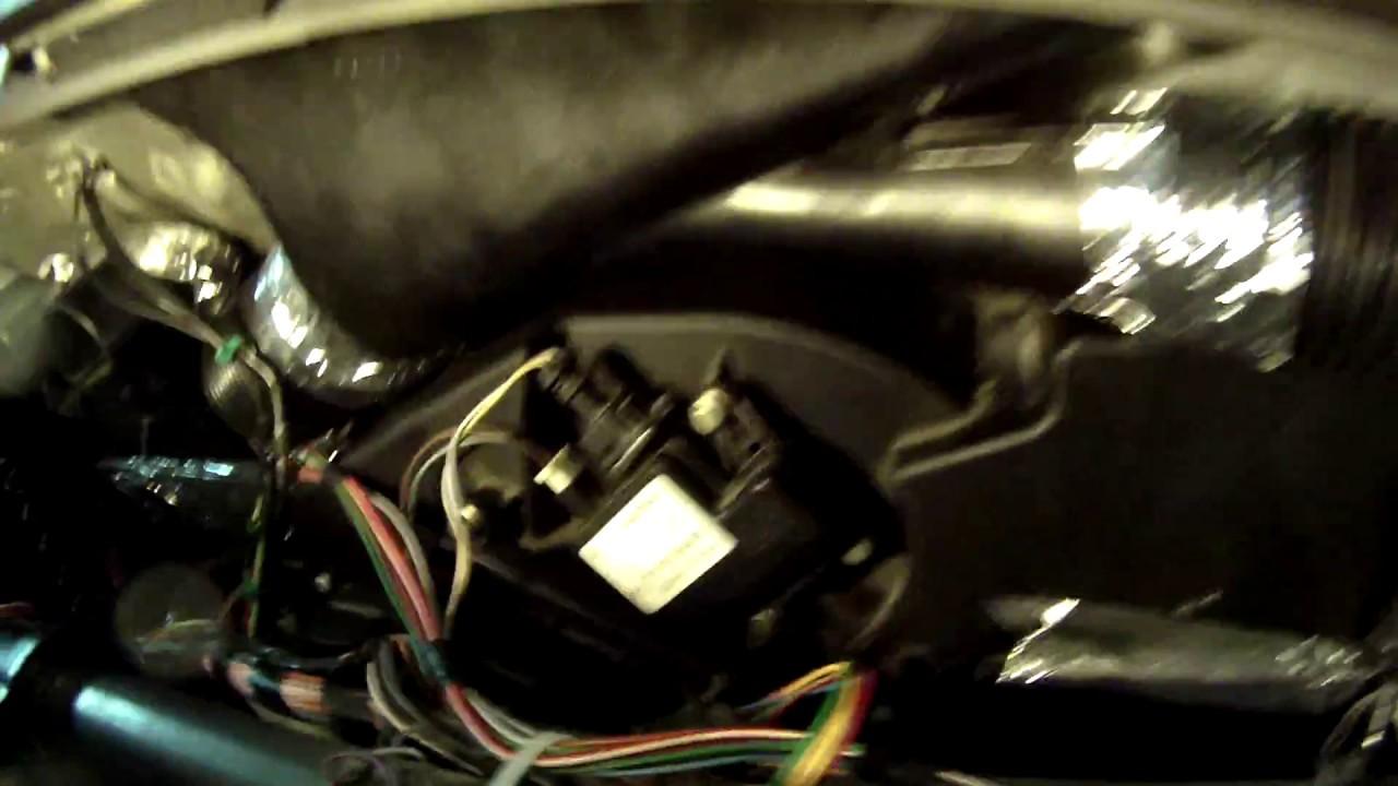 Замена печки ГАЗ-31105 рестайл, 2008г., дв Chrysler. часть 3.
