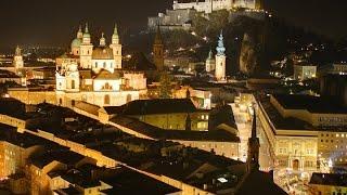 АВСТРИЯ: Ночной Зальцбург - Прогулка по Родине Моцарта... SALZBURG AUSTRIA(Путешествие в Голливуд: АВСТРИЯ Ответы на вопросы http://anzortv.com/forum АВСТРИЯ: Ночной Зальцбург - Прогулка по..., 2014-07-01T09:21:34.000Z)