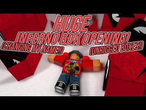 Miners Haven: HUGE INFERNO BOX OPENING (CHANGING MY NAME UNRIG BOXES?)