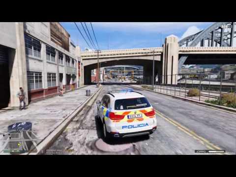 GTA V LSPDFR: Dia 32 BMW X5 Policia Local de Alcorcon