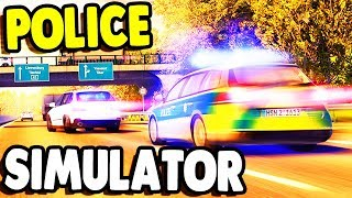 First Look: HIGH SPEED Police CHASE SIMULATOR | Autobahn Police Simulator 2 Gameplay