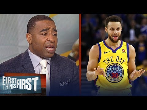 Cris Carter on why he's not impressed with Warriors' 4th straight Finals | NBA | FIRST THINGS FIRST