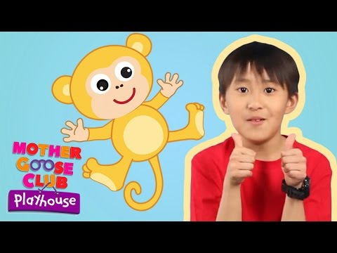 Five Little Monkeys | Mother Goose Club Playhouse Kids Video