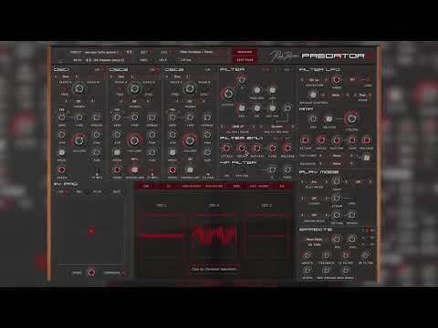 Predator 2 by Rob Papen \\ Exploring The Sounds