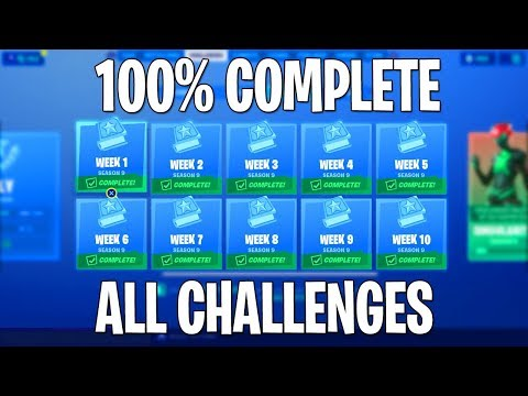 🔴 SEASON 10 IN 10 DAYS! 100% Completing Every Challenge In Fortnite Season 9 Live! // #VanishRC