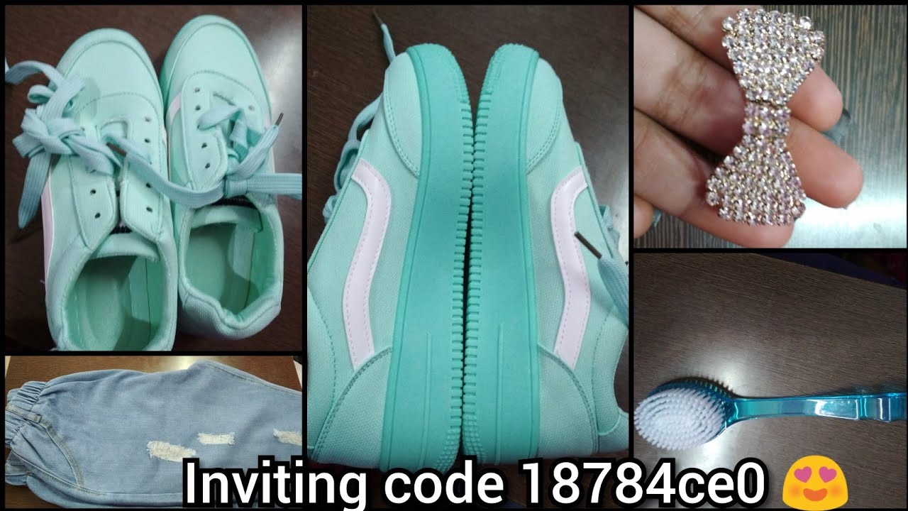 Club Factory shoes, joggers and accessories review with coupon code 3629816