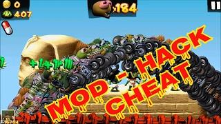 Zombie Tsunami - Crazy Bikers - Mod - Cheat - Hack - Flying - Speed