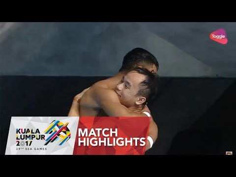 Diving Men's Synchronised 3m Springboard Final Highlights   29th SEA Games 2017