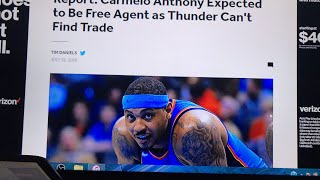 Wow! OKC Thunder can't find team interested in Melo trade!