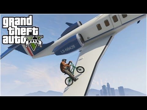 GTA 5 - BMX FREESTYLE (EPIC STUNTS)