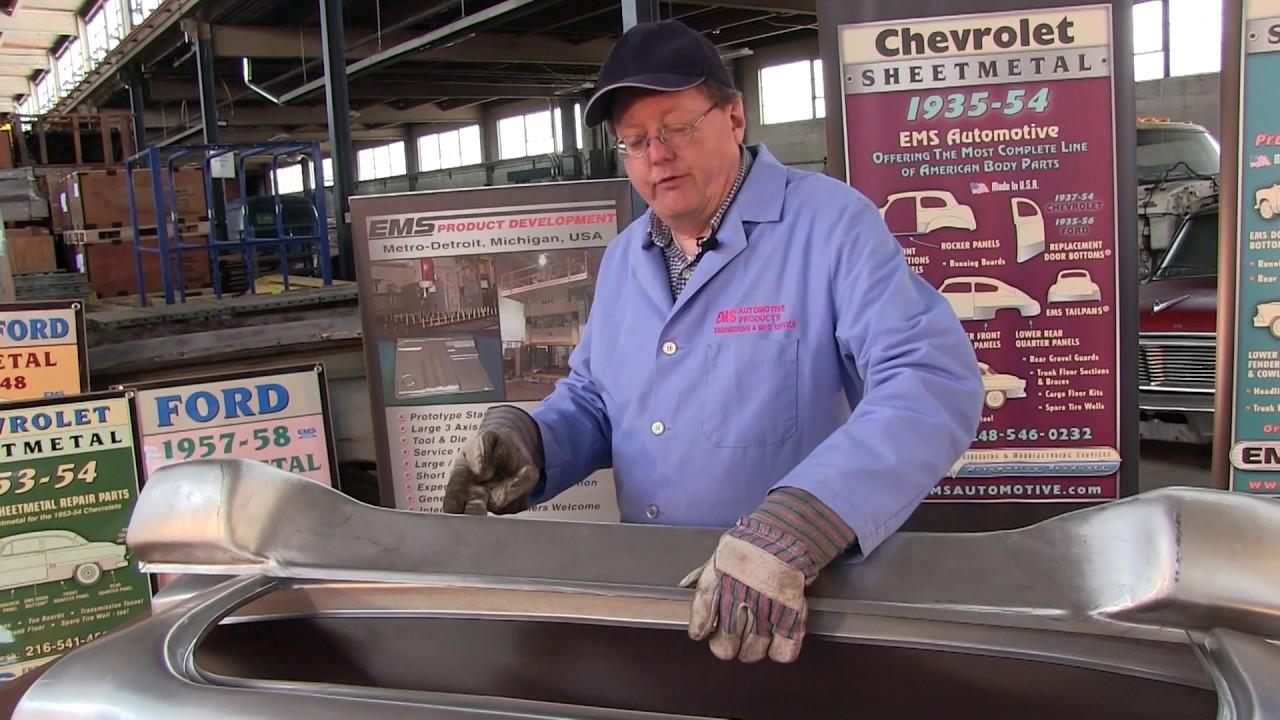 1937 39 Chevrolet Sheet Metal Panels Youtube