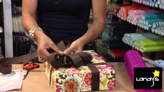 Repeat youtube video Envoltura de regalo y moño