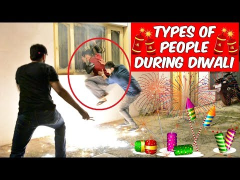 Types Of People During Diwali l The Baigan Vines