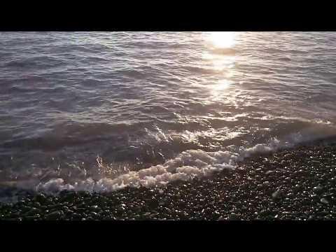 Çakıllı Sahil ve Deniz Dalgalarının Huzur Veren Sesleri 1 Saatlik Uzun Versiyon