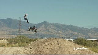 Pit Bike Jump Fail | Oh Sh*t Moments with Erik Roner