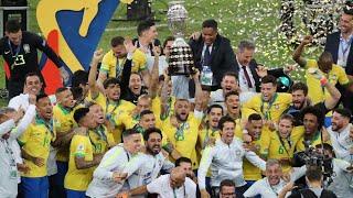 Melhores momentos  final  Copa América 2019  Brasil 3 x 1 Peru