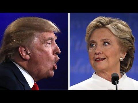 Les temps forts du débat Trump Clinton