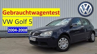 VW Golf V 1.4 (2004-2008) Wie gut ist ein 15 Jahre alter Golf? 🤔 - GEBRAUCHTWAGENTEST -