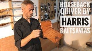 Archery Review: Horseback Quiver by Harris Baltsavias - Tanner's Cabin