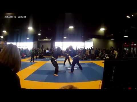 Fuji BJJ white belt 3rd/4th place match - My first tournament