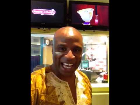 Alex Boye's first official Radio Disney interview in Burbank