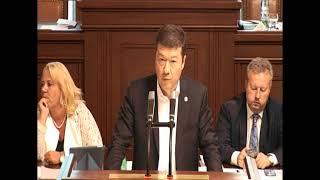 Tomio Okamura: Projev - důvěra vládě