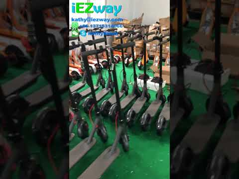 IEZway Sharing Scooter Replace Battery