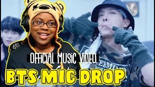 MIC Drop by BTS ft Steve Aoki Remix Official MV by ibight | K Pop Music Video Reaction