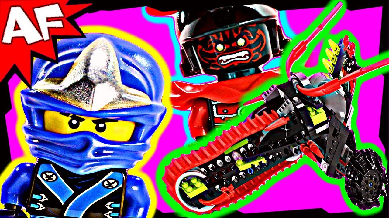 Samurai Warrior Bike 70501 Lego Ninjago Stop Motion Set Review Youtube