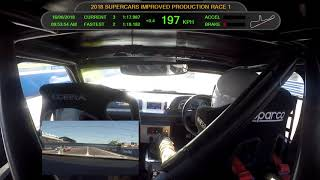 2018 Darwin Supercars Improved Production Support Race 1 - Bazzery Racing