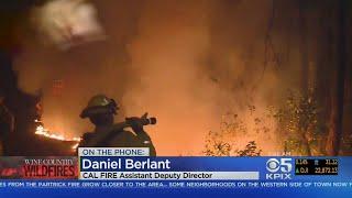 Cal Fire Friday Morning Update On Firefighting Effort