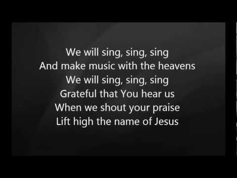 Chris Tomlin - Sing Sing Sing with Lyrics