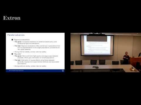 Applied Stats 3/22/17 - Elizabeth Stuart on YouTube