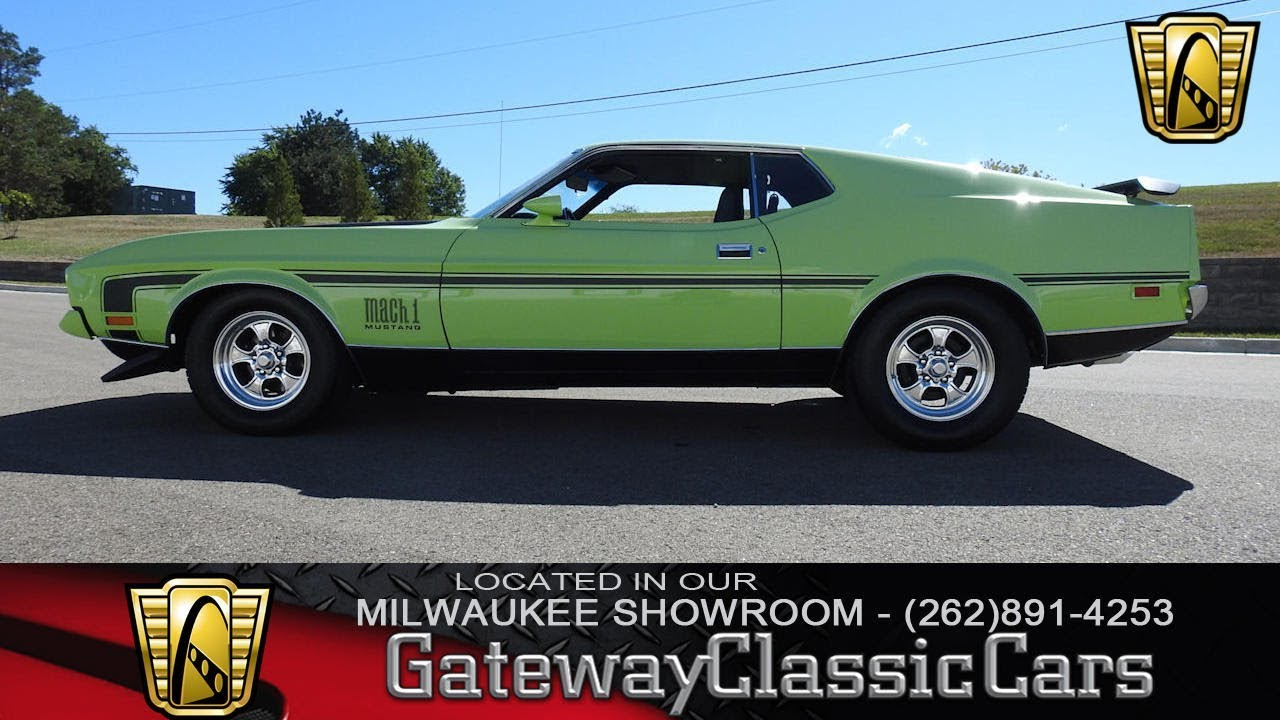 332 mwk 1971 ford mustang mach 1