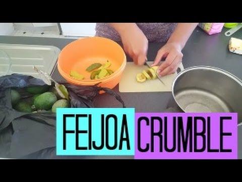 How To Make: Feijoa Crumble
