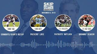 Cowboys vs. Giants recap, Packers' loss, Zeke + Dak (Full Show) | UNDISPUTED Audio Podcast