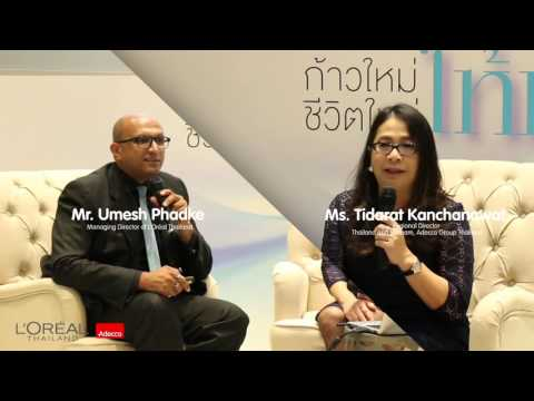 "Adecco Group Thailand And L'Oreal(Thailand) Signed MOU On ""Bringing Hope To Moms"" Project"