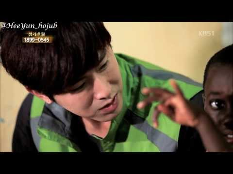 [Eng Sub] Yunho, Road for Hope 06/14 (Buruli ulcer) 2013 KBS 희망로드대장정 정윤호
