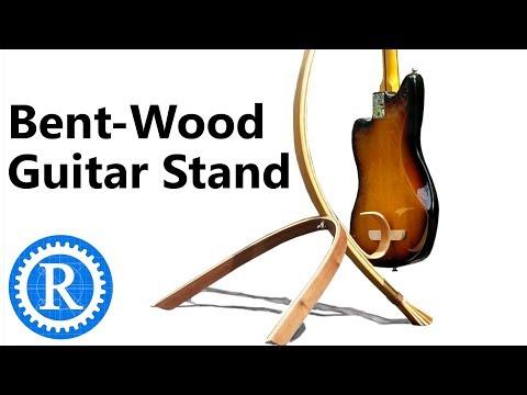 Bent Lamination Guitar Stand