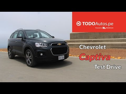 Test Drive: Chevrolet Captiva | TODOAutos.pe