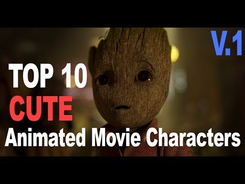 TOP 10 Cutest Animated Movie Characters | V.1 [MOVIE CHARACTER]