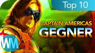 ✪ TOP 10 der KRASSESTEN Captain America GEGNER ✪