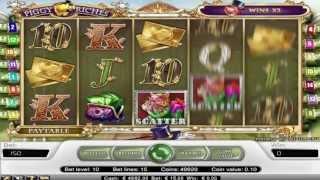 FREE Piggy Riches  ™ slot machine game preview by Slotozilla.com